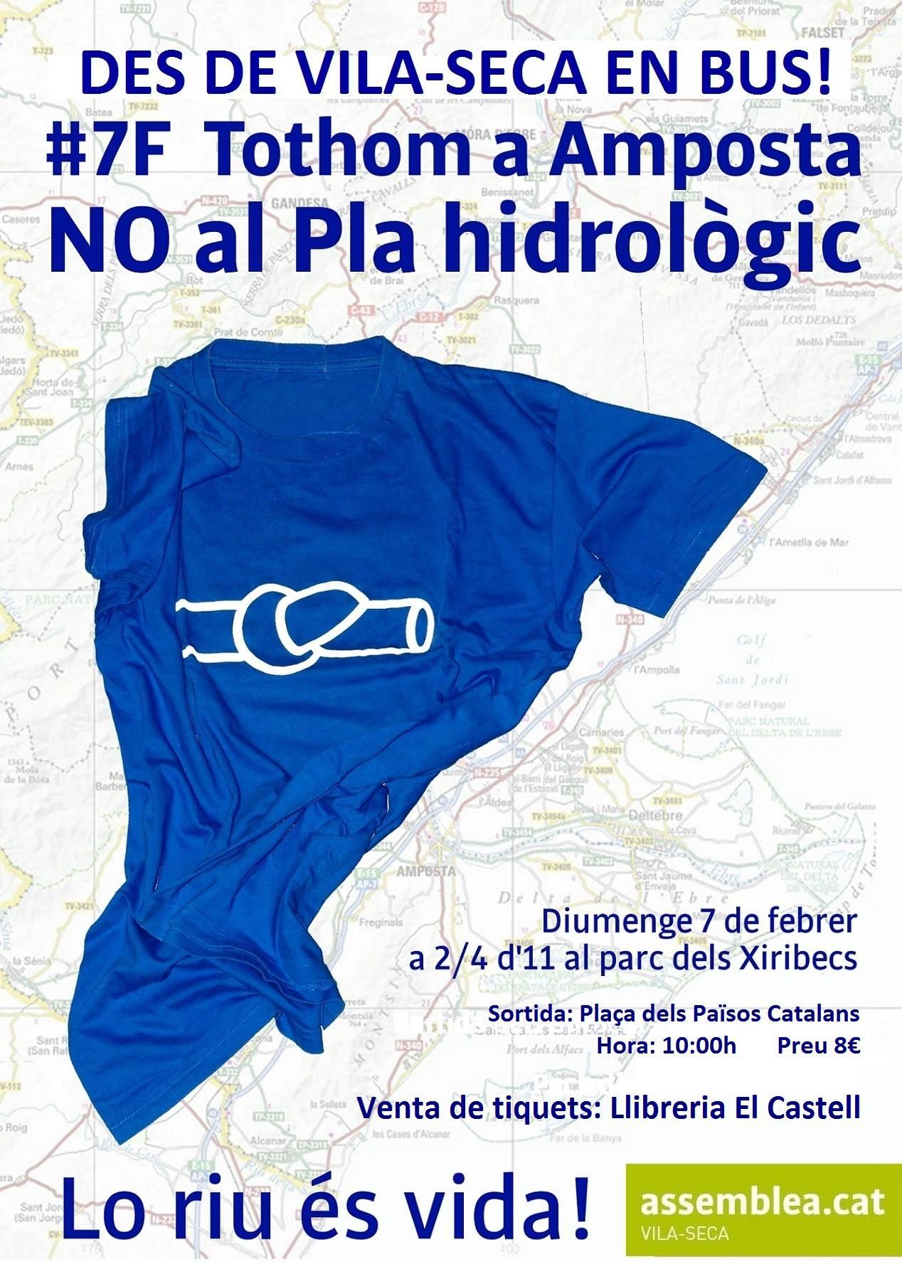 NO al Pla hidrològic