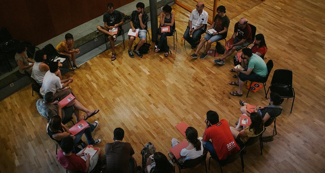 El rebotim va participar a L'Escola d'Estiu d'Economia Social i Solidària