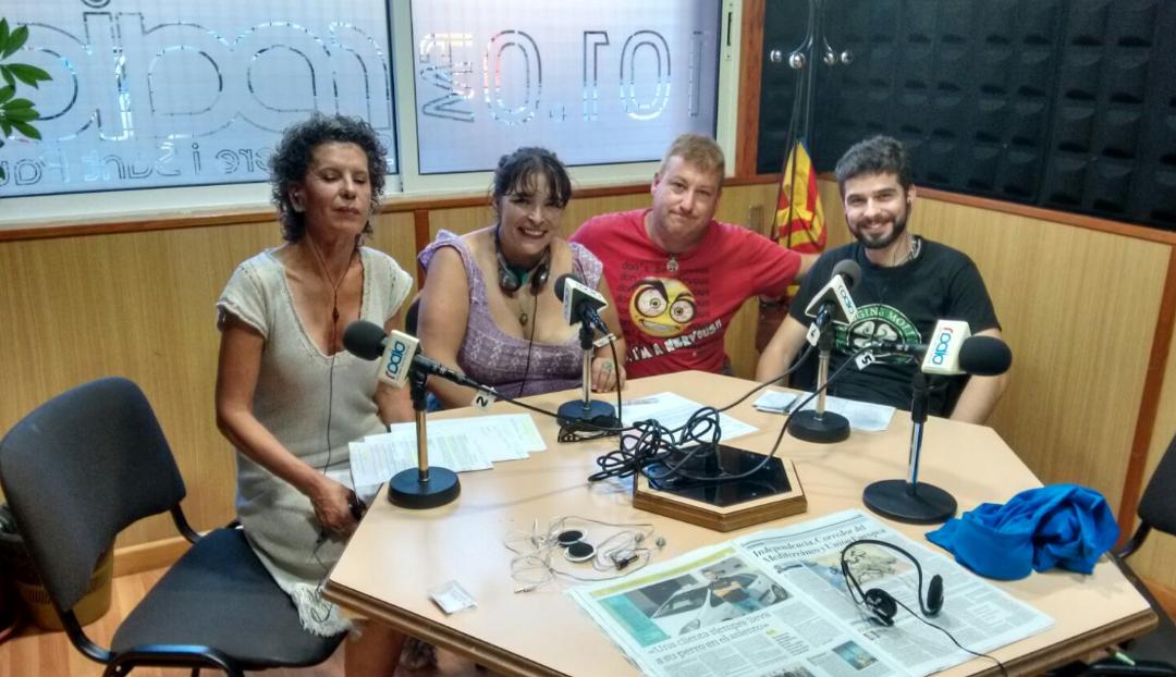 Parlem de Casals Populars a Ràdio Sant Pere i Sant Pau